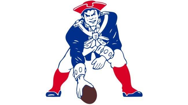 New England Patriots Logo 1989-1992