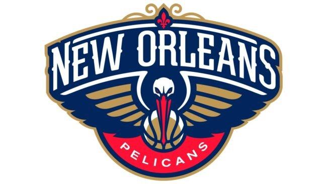 New Orleans Pelicans Logo 2014-Heute