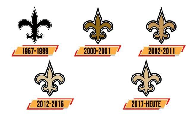 New Orleans Saints Logo Geschichte
