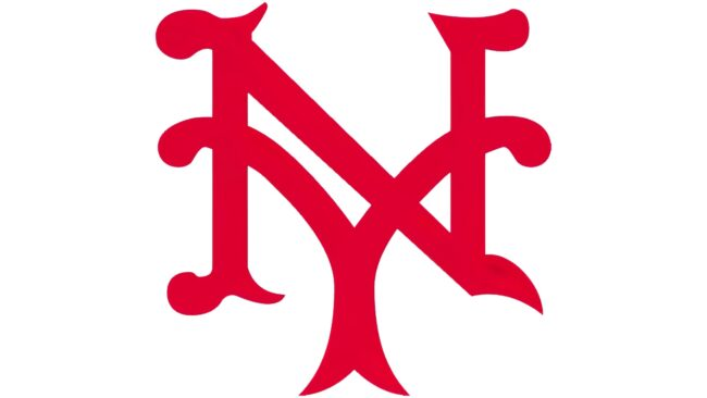 New York Giants Logo 1924-1927