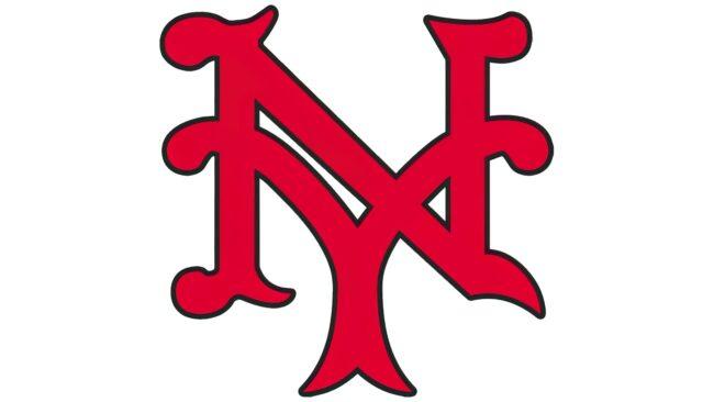 New York Giants Logo 1930-1932