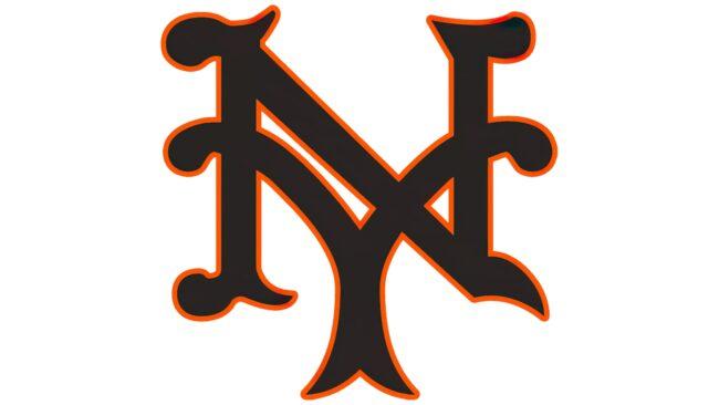 New York Giants Logo 1933-1935