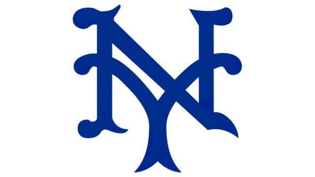 New York Giants Logo 1936-1939