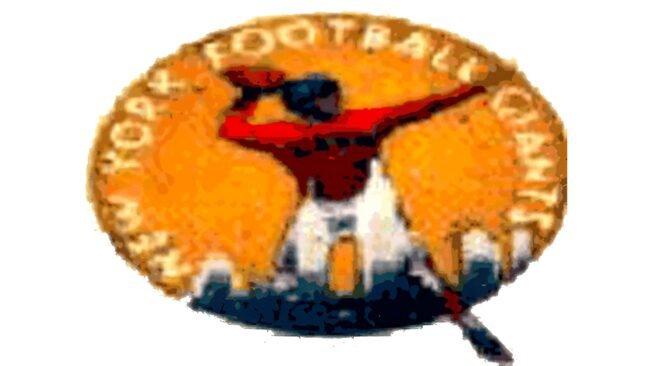 New York Giants Logo 1945-1949