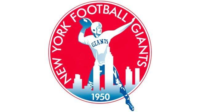 New York Giants Logo 1950-1955
