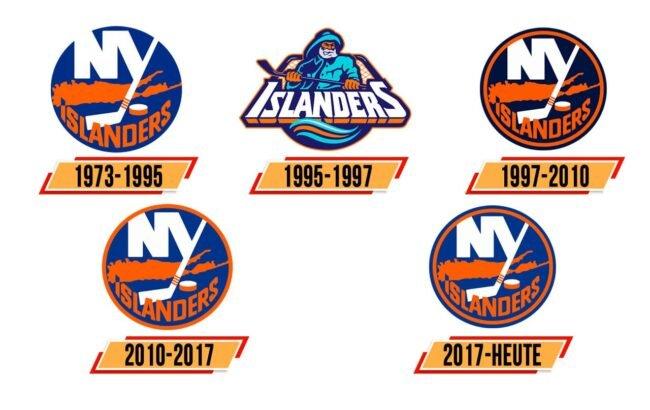 New York Islanders Logo Geschichte