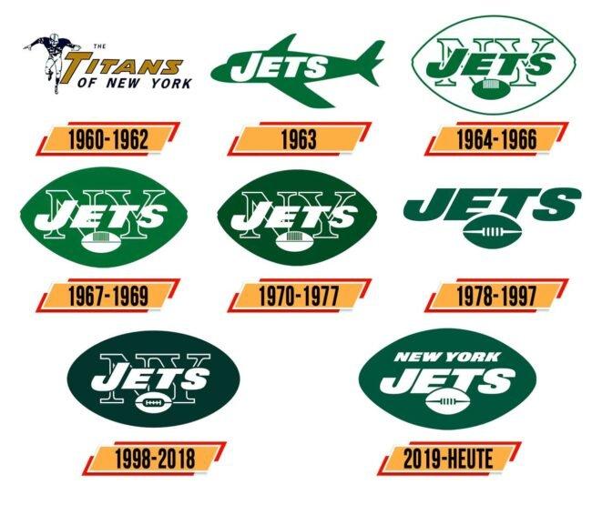 New York Jets Logo Geschichte