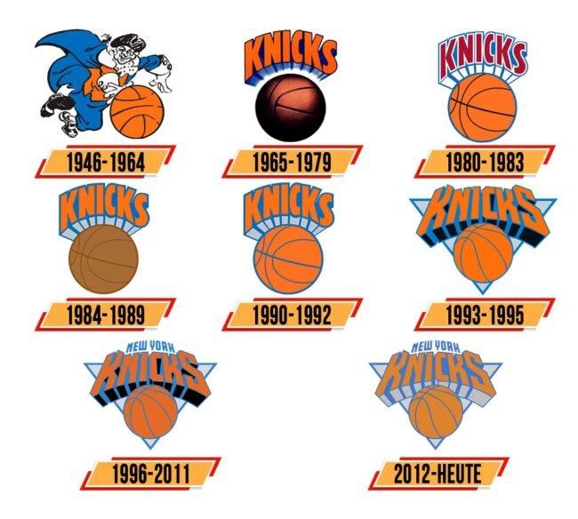 New York Knicks Logo Geschichte