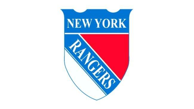 New York Rangers Logo 1927-1935