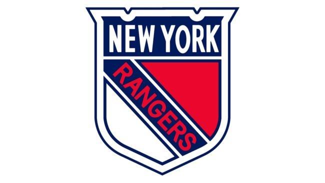 New York Rangers Logo 1936-1947