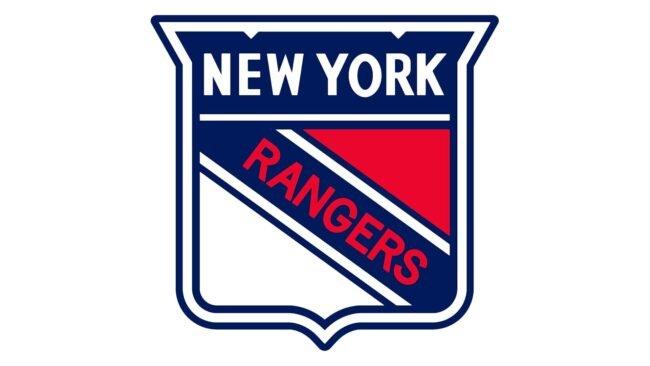New York Rangers Logo 1947-1952
