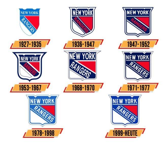 New York Rangers Logo Geschichte