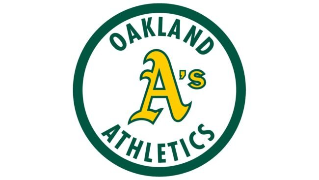 Oakland Athletics Logo 1982-1992