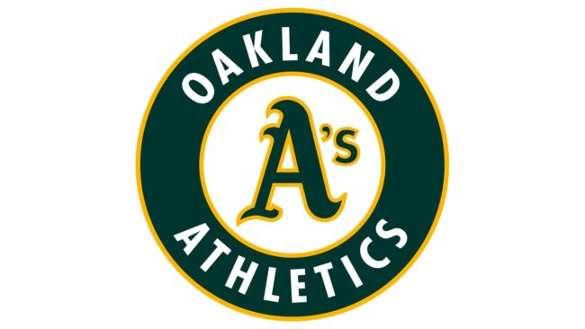 Oakland Athletics Logo 1993-Heute