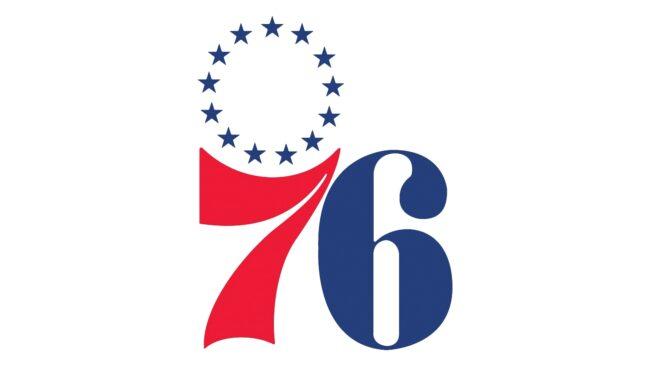 Philadelphia 76ers Logo 1964-1977