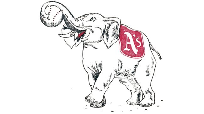 Philadelphia Athletics Logo 1939-1953