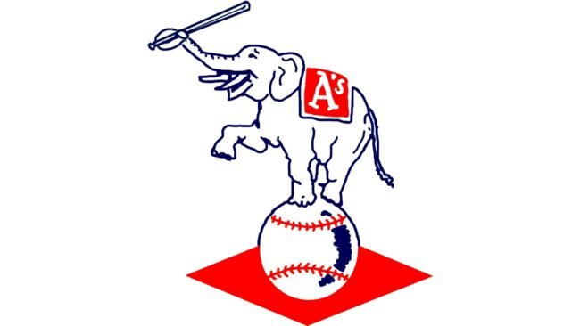Philadelphia Athletics Logo 1954