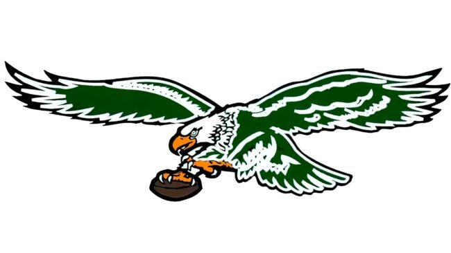 Philadelphia Eagles Logo 1987-1995