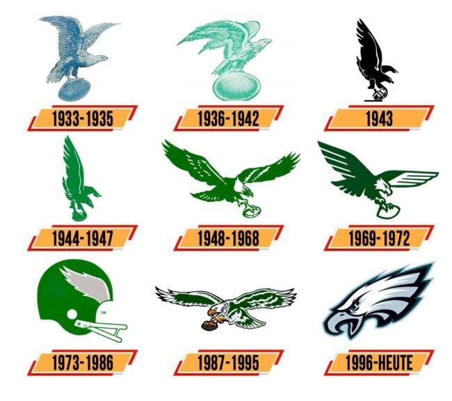 Philadelphia Eagles Logo Geschichte