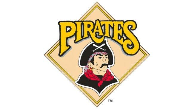 Pittsburgh Pirates Logo 1987-1996