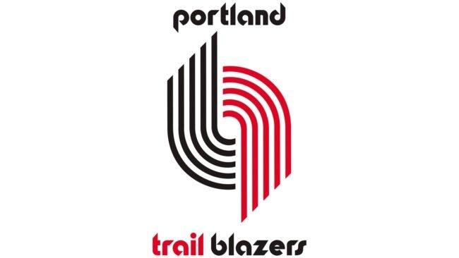 Portland Trail Blazers Logo 1970-1990