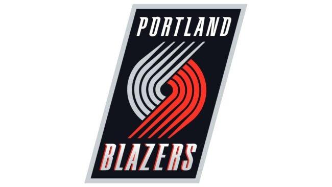 Portland Trail Blazers Logo 2003-2004
