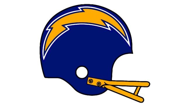San Diego Chargers Logo 1974-1987