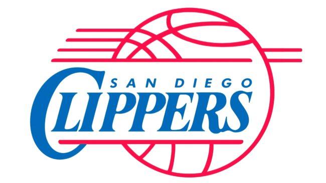 San Diego Clippers Logo 1983-1984
