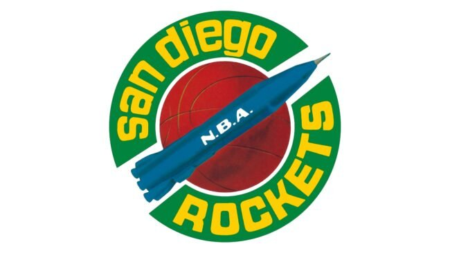 SanDiego Rockets Logo 1967-1971