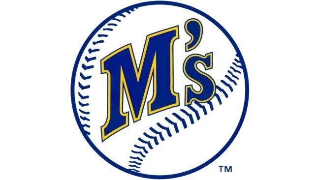 Seattle Mariners Logo 1987-1992