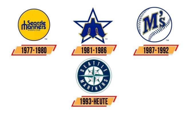 Seattle Mariners Logo Geschichte
