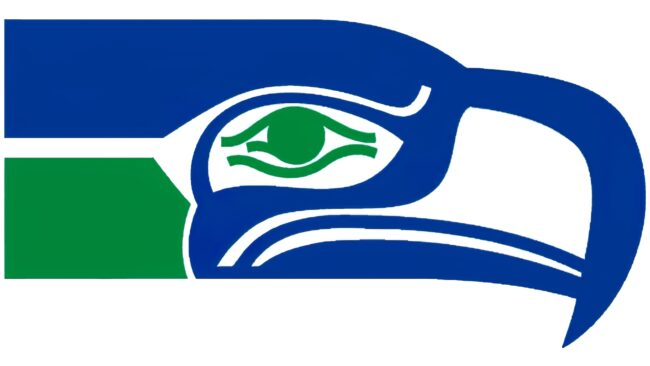 Seattle Seahawks Logo 1976-2001