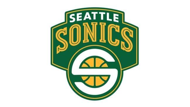 Seattle Sonics Logo 2002-2008