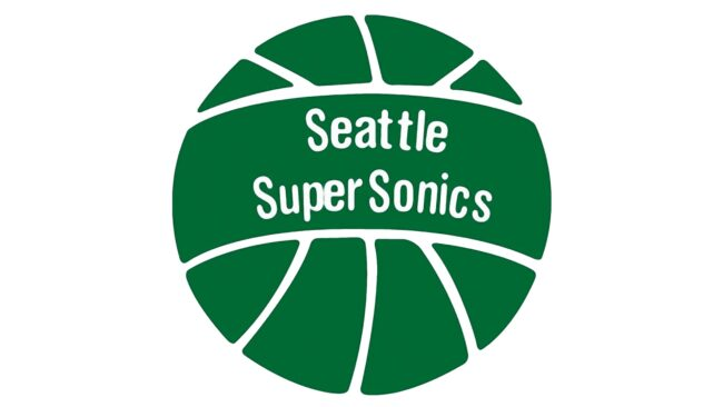 Seattle SuperSonics Logo 1971