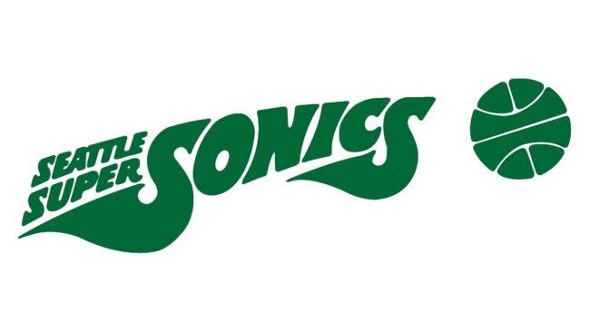Seattle SuperSonics Logo 1972-1975