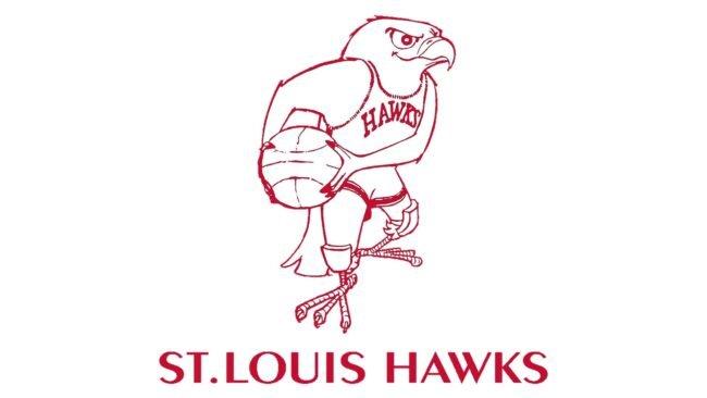 St. Louis Hawks Logo 1957-1968