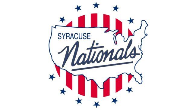 Syracuse Nationals Logo 1950-1963