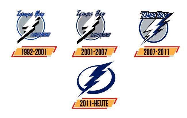 Tampa Bay Lightning Logo Geschichte
