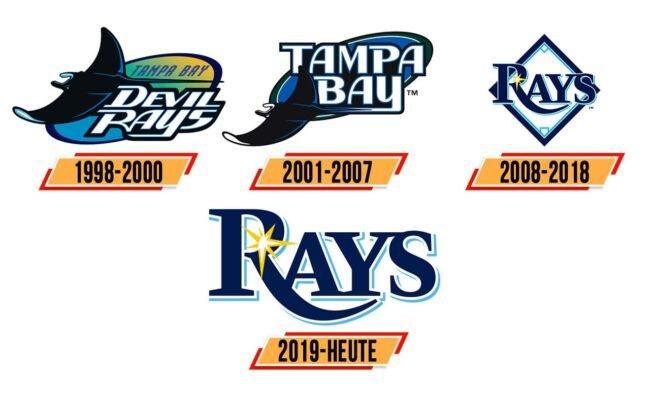 Tampa Bay Rays Logo Geschichte