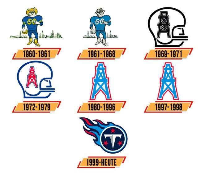 Tennessee Titans Logo Geschichte