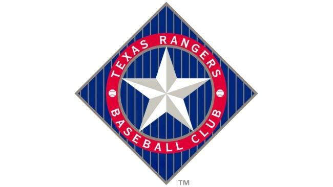 Texas Rangers Logo 1994-2002