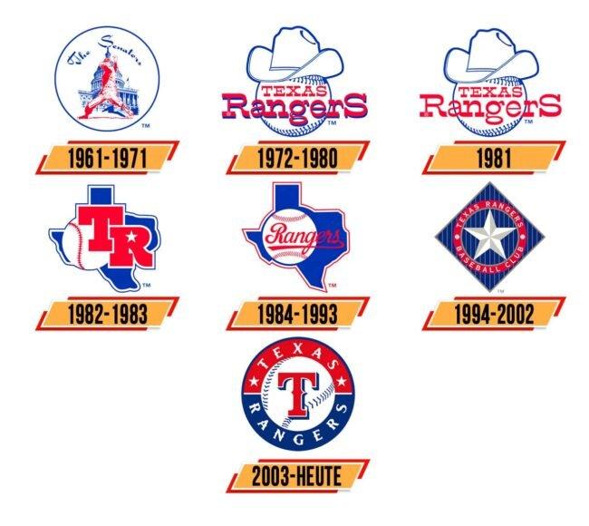 Texas Rangers Logo Geschichte