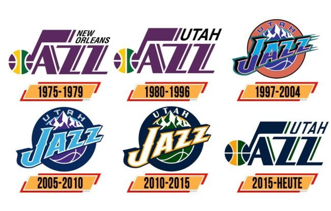 Utah Jazz Logo Geschichte