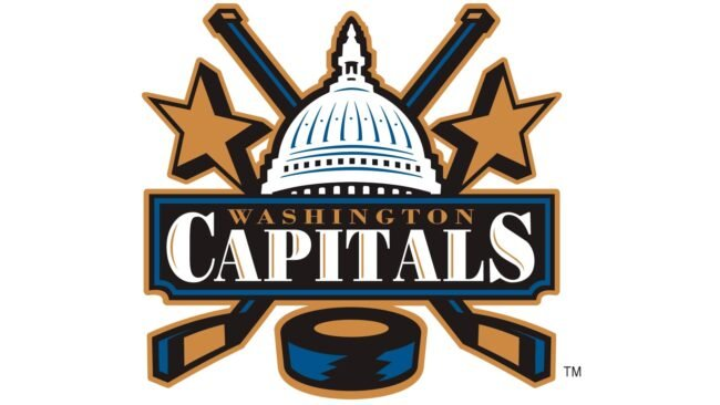 Washington Capitals Logo 2002-2007