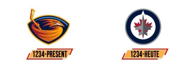 Winnipeg Jets Logo Geschichte