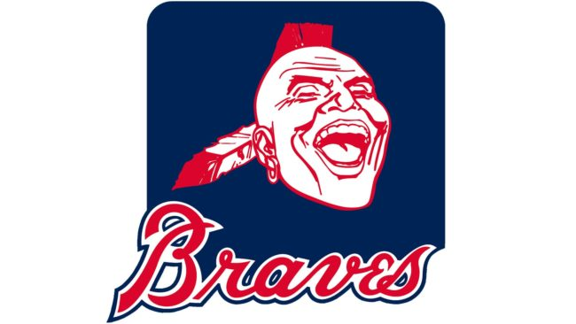 Atlanta Braves Logo 1987-1989