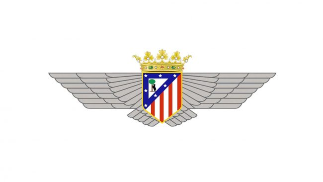 Atletico Madrid Logo 1942-1947