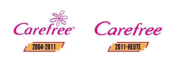 Carefree Logo Geschichte