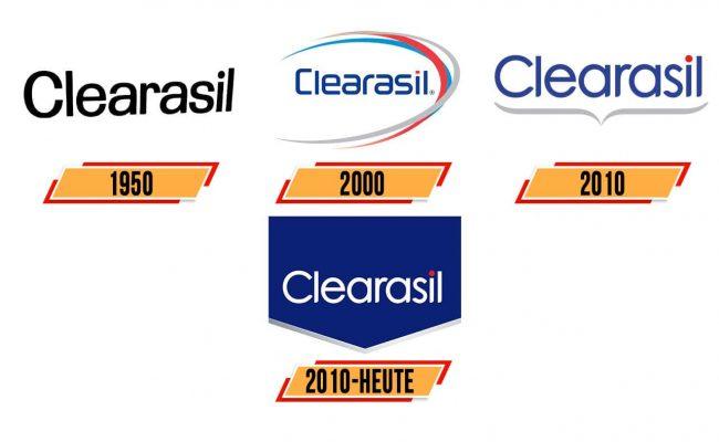 Clearasil Logo Geschichte