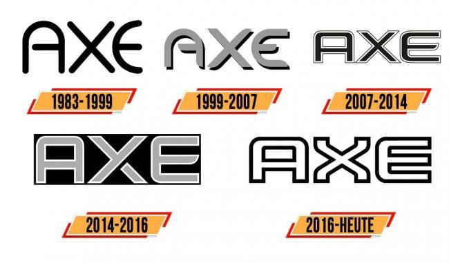 AXE Logo Geschichte